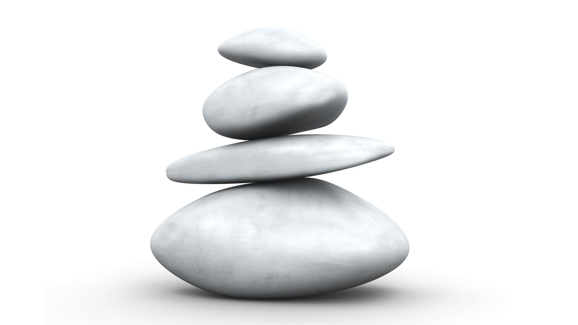 Balance Stone pyramid