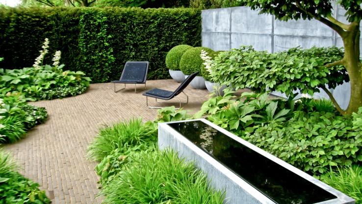 zen garden water