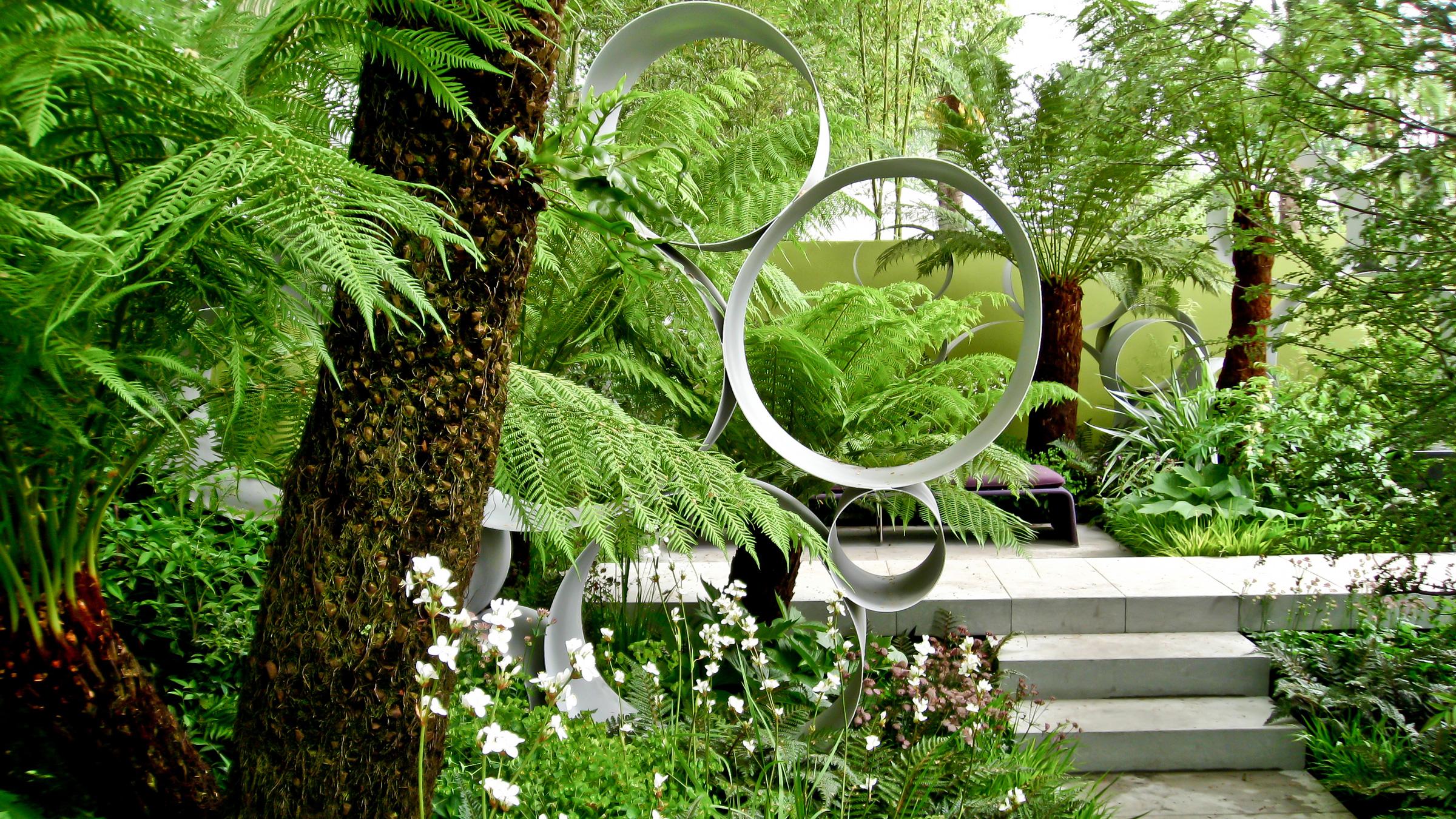 zen garden sculpture